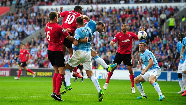 Fraizer Campbell scored twice as newly promoted Cardiff City AFC beat Manchester City FC 3-2. [ http://www.uefa.com/memberassociations/association=wal/news/newsid=1984869.html ]
