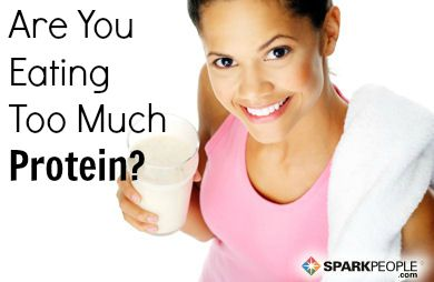 You Asked: Can You Really Eat Too Much Protein? via @SparkPeople