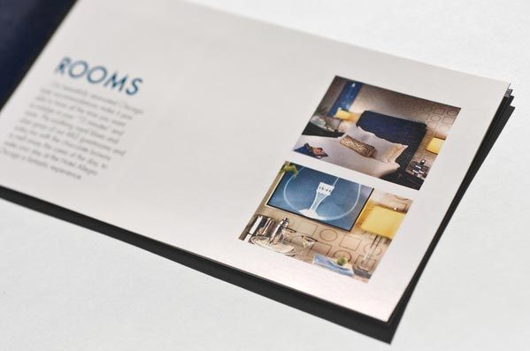 Brochure Design - nice use of white space + others