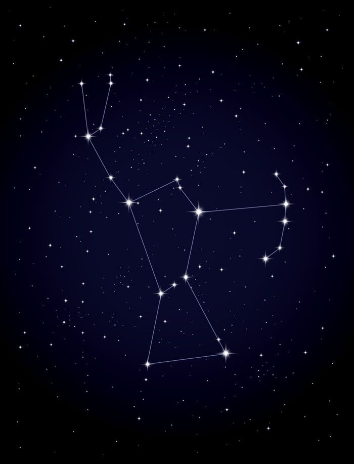 To help find their way around the sky, astronomers divide it into 88 regions, like counties in a state. The regions are connected to imaginary stick-figure pictures called the constellations. Many cultures have their own set of legendary sky figures. We use the mythological characters imagined by the ancient Greeks and ancient Egyptians. Orion, the Hunter, is one of the most familiar constellations. His shoulders, legs, and waist are easy to trace. | What Stars and Nebulae Are | Kids…
