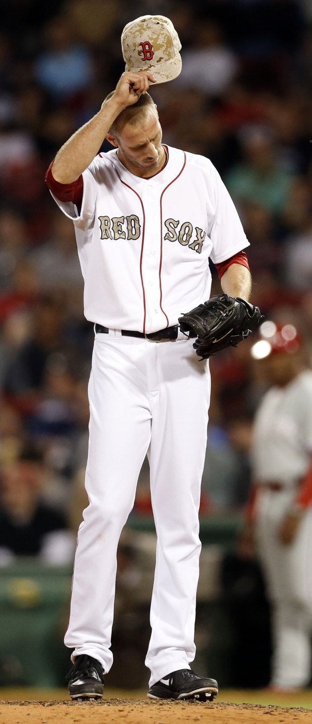 Boston Red Sox camo baseball uniforms