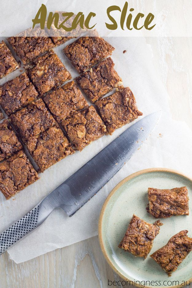 Anzac Slice | 11 Delicious Twists On The Classic Anzac Biscuit
