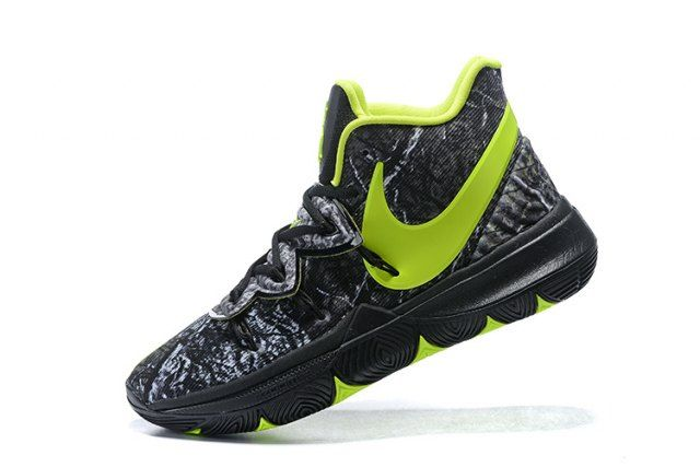 Nike Kyrie 5 Black Volt Grey Men's Basketball Shoes Irving