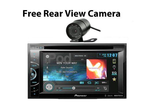 Pioneer AVH-X2600BT 2-DIN Multimedia DVD Receiver with 6.1 Inch WVGA Touch Screen Display (FREE REAR VIEW CAMERA) - http://www.productsforautomotive.com/pioneer-avh-x2600bt-2-din-multimedia-dvd-receiver-with-6-1-inch-wvga-touch-screen-display-free-rear-view-camera/