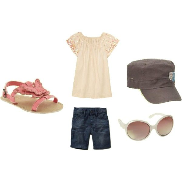kids summer outfit, created by kfstutts.polyvore.com: Kids Outfits, Kids Summer, Kids Style, Kids Close, Kids Fashion, Cute Outfits, Disneyland, Kids Clothing, Kid Summer