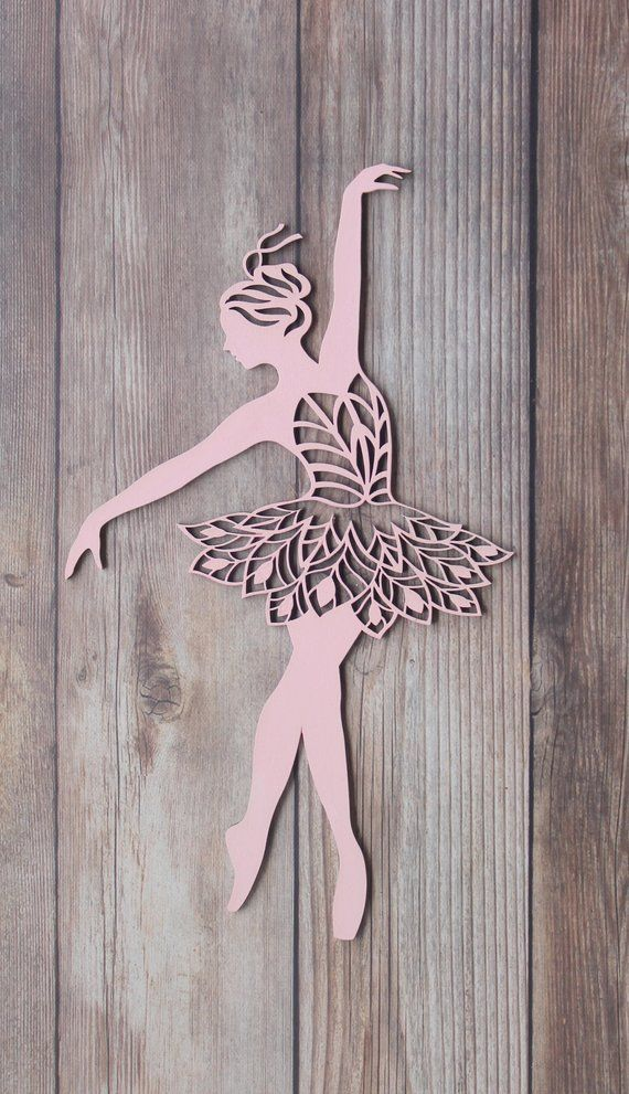 Ballerina Wall Art Dance Sign Decor