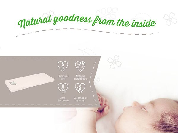 We're an organic baby shop offering the best online organic baby products to buy. Our range includes organic baby cot mattresses, cots, cot beds, moses baskets, bedding, clothes, baby grows, toiletries, toys, baby gifts, nursery furniture and much more! Come and see our products!