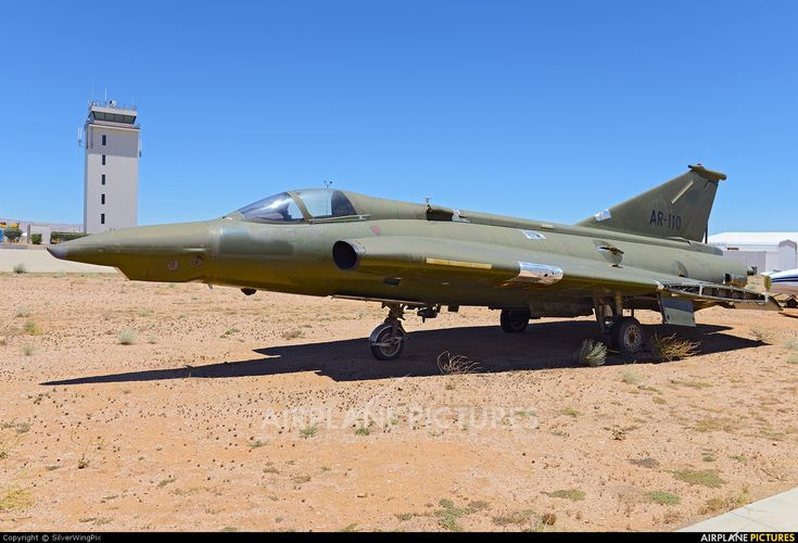 National Test Pilots School AR-110 aircraft at Mojave photo