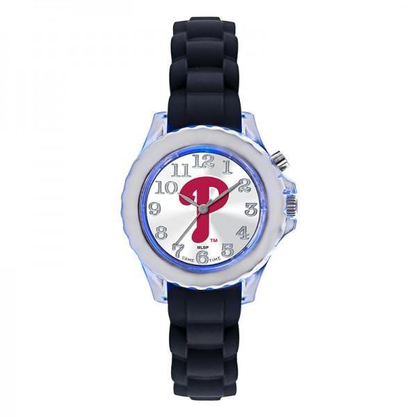Philadelphia Phillies Kids Flash Watch - Black