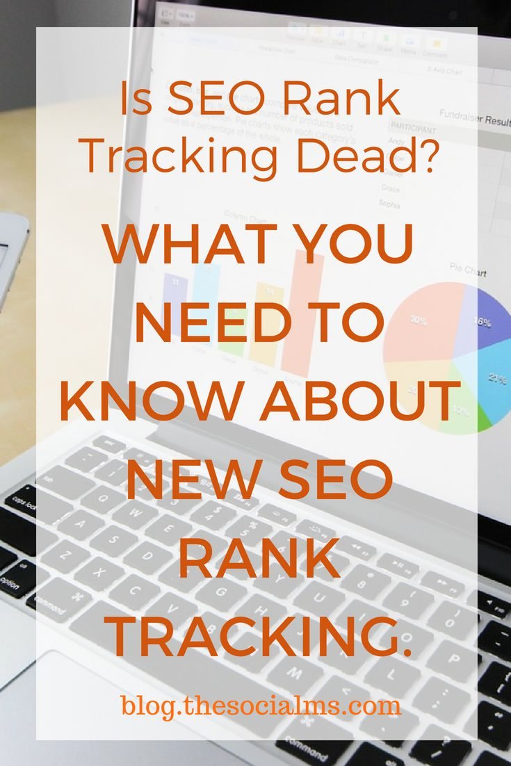 SEO Rank tracking or tracking of organic positions of keywords to optimize your web …   – The Social Ms – Marketing for Marketers | TheSocialMs.com