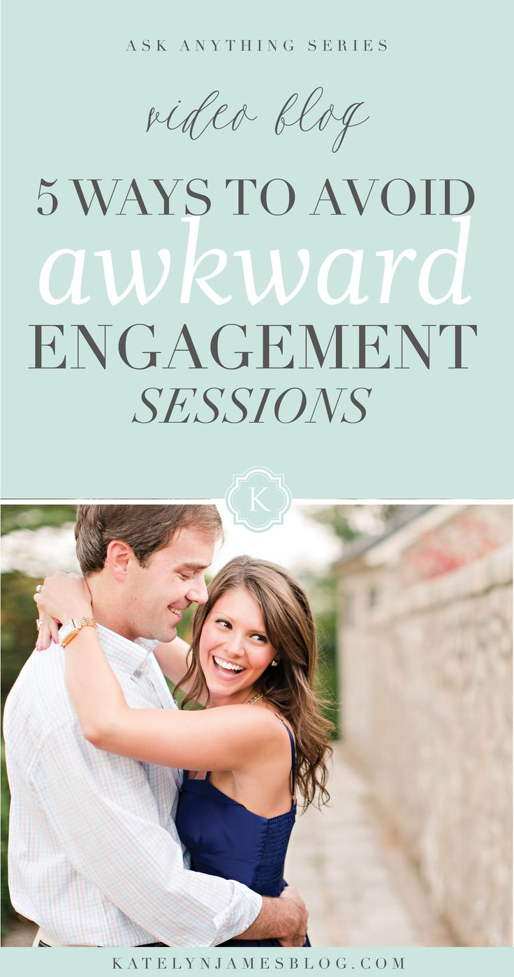 5 Things Wedding Photographers should Say When Starting An Engagement Shoot to Avoid an Awkward Session