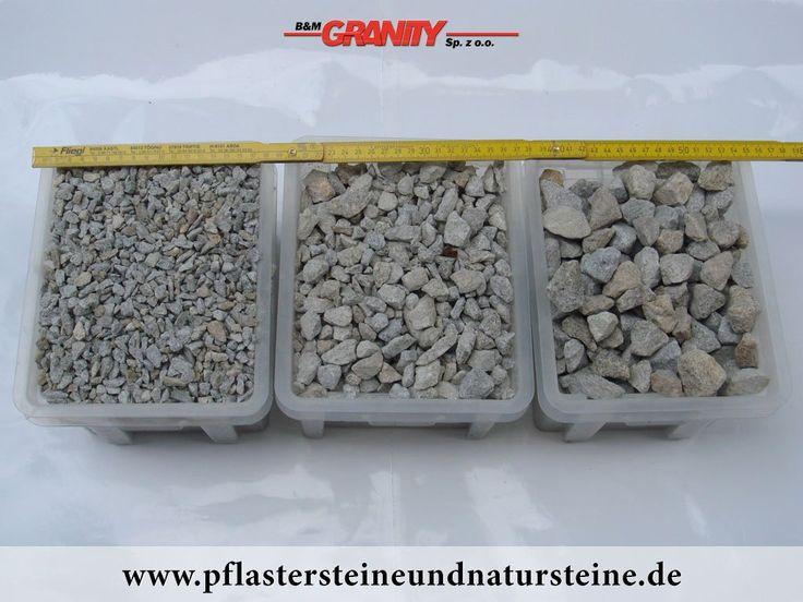 granit splitt grau gelb krnung 28 mm 8 kieslandschaftsbaugarten garden - Kies Garten Gelb