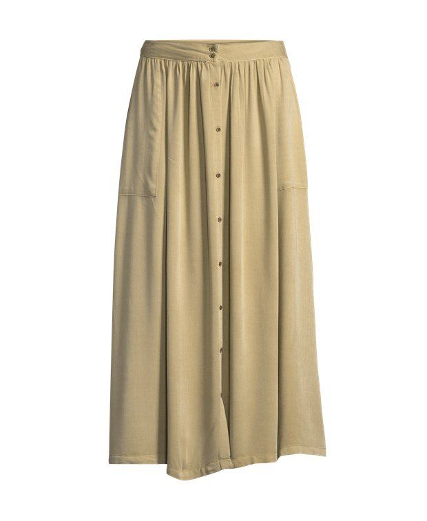 Pepe Jeans Maxi-skirt Colour moss