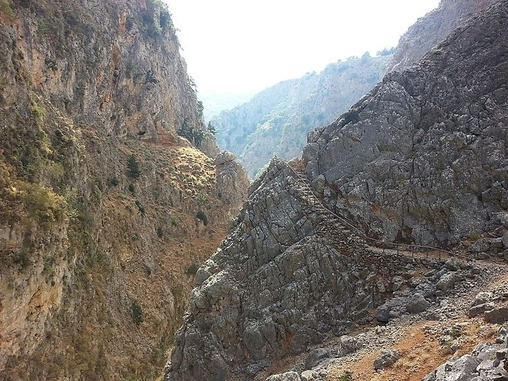 The gorge of Aradena