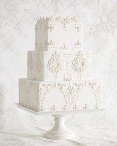 7 Handkerchief-Inspired Wedding Cakes That Are Sew Sweet #cupcake #dessert
