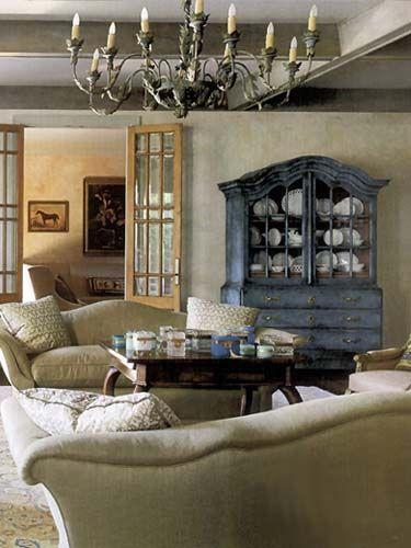 Elegant Yet A Casual Feel Photo Via Eleanor Cummings Interior Design Website