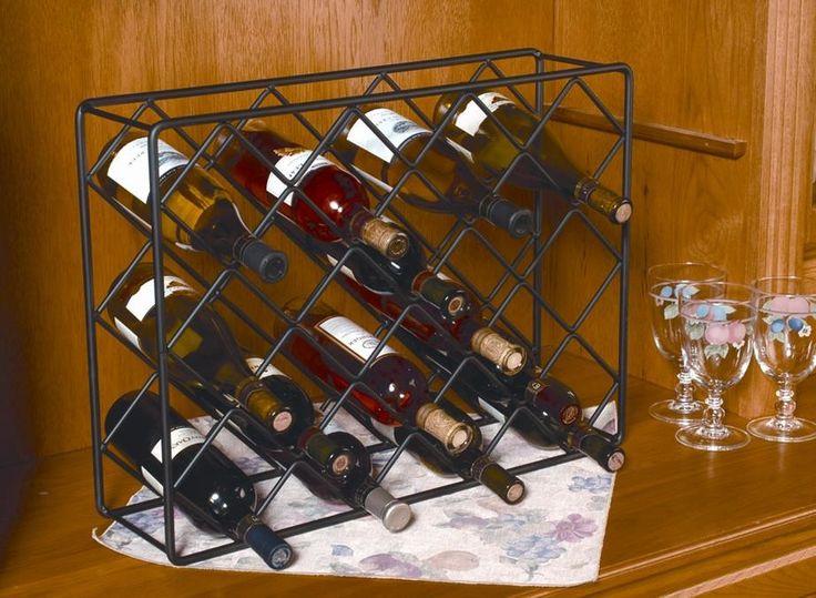 18 Bottle Tabletop Wine Rack