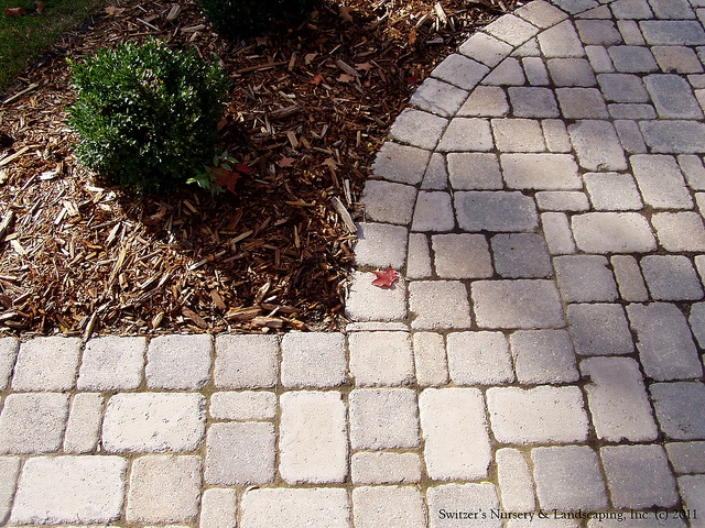 Interlocking Paver Patio & Sidewalk for front of residence by Switzer's  Nursery & Landscaping, ... - 17 Best Ideas About Interlocking Pavers On Pinterest Paver
