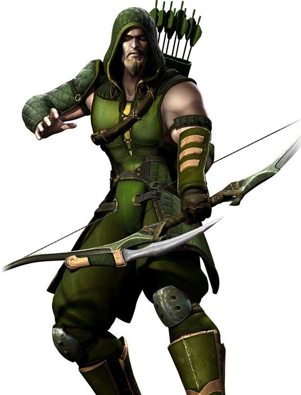 green arrow art | site oficial do jogo de luta está atualizando a biografia dos seus ...