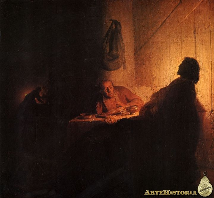 best semana santa images painting religious art la cena en emaatildeordms obra artehistoria v2