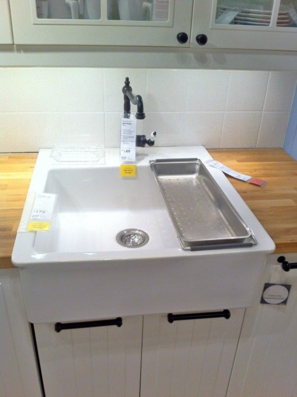 Ikea Farmhouse Sink And Wood Countertops My New House Ideas