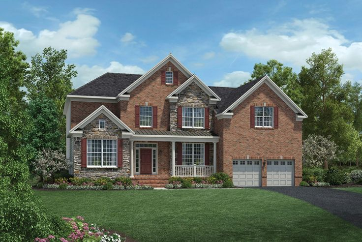 Toll Brothers Hopewell The Farmhouse Beautiful Homes In New