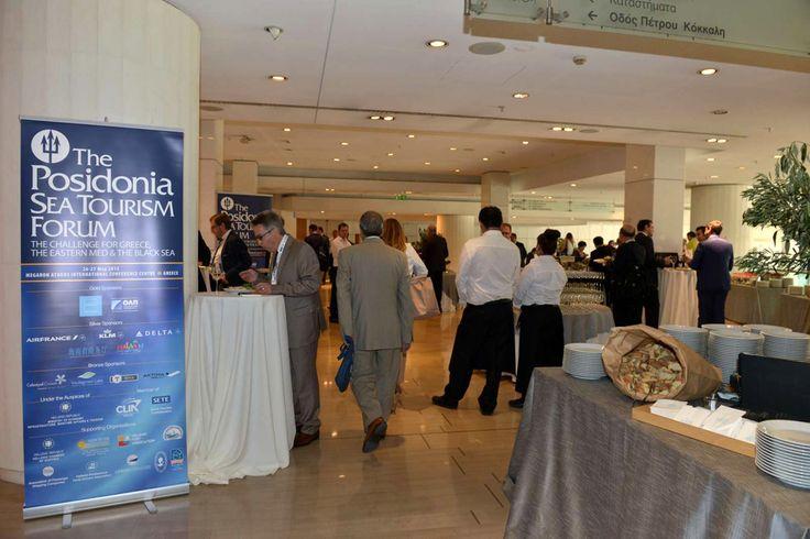 Το 3ο Posidonia Sea Tourism Forum έλαβε χώρα στο Συνεδριακό κέντρο του Μέγαρο Μουσικής Αθηνών, στις 26 και 27 Μαΐου 2015.  Στο Forum, που σέρβιρε η #ARIAFineCatering, παραβρέθηκαν κορυφαία στελέχη των μεγαλύτερων εταιρειών κρουαζιέρας παγκοσμίως. Συνολικά, περίπου 800 επαγγελματίες του θαλάσσιου τουρισμού συμμετείχαν στις συζητήσεις.