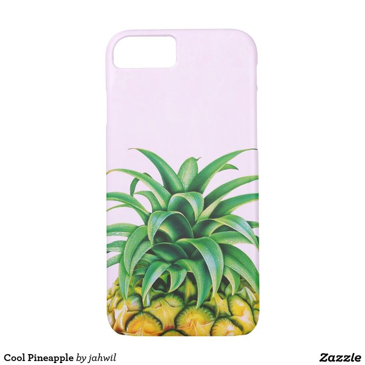 #pineapple #cool #iphone7 #iphone7case #summer #tropical #minimalist #fresh #funny #fruit #beach #travel #holidays Cool Pineapple iPhone 7 Case