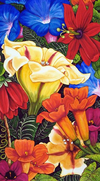 Kendahl Jan Jubb is the leading watercolor painter of bold beautiful floral still life, nature and wildlife artwork