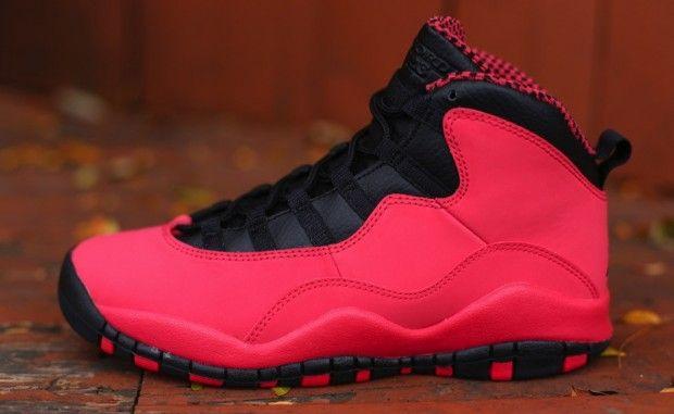 """Air Jordan 10 GS """"Fusion Red"""""""