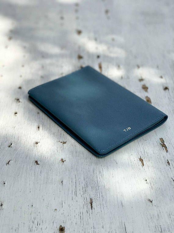Leather Slimfold Wallet - Santorini Dreams by VIDA VIDA fIRpXN