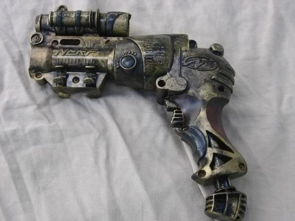 Getting NERFed: examples of toy guns turned into cool LARP ...  |Nerf Guns Awesome Looking