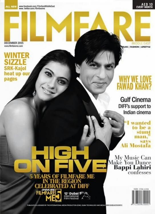 SRK and Kajol Making together after 5 year in movie Dilwale. They both are busy in movie promotion and Photoshoota Cover of Film Fare for their Dec 2016 issue.