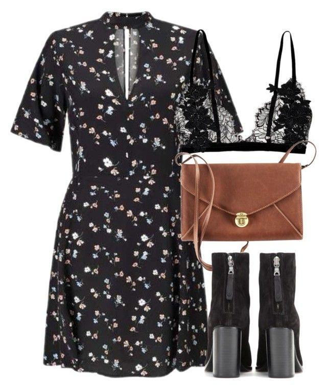 """""""Untitled #6158"""" by laurenmboot ❤ liked on Polyvore featuring Miss Selfridge, H&M and rag & bone"""