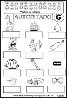 Autoditado da letra G