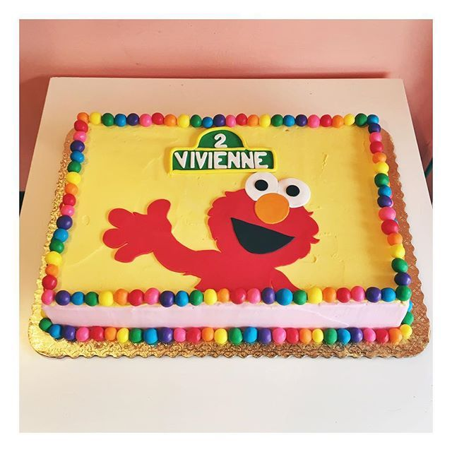 17 best SESAME STREET CAKES images on Pinterest Sesame street cake