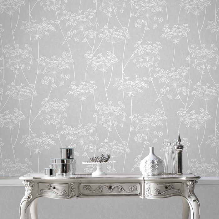 Aura Grey Wallpaper by Graham and Brown
