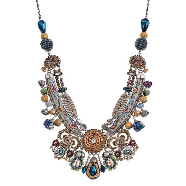 Golden Dawn Energy Necklace  Aayla Bar Hip Collection Summer 2016