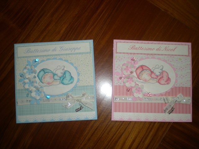 Card battesimo by Maichi