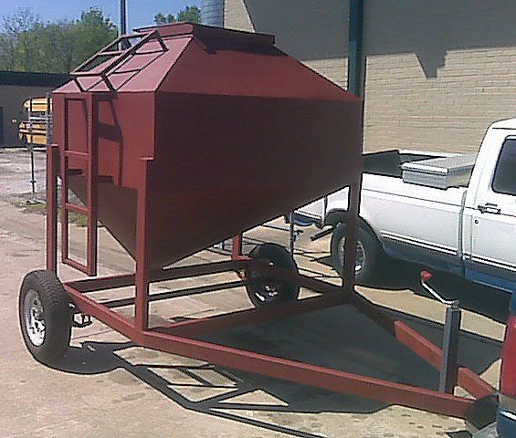 2 Ton Portable Cattle Feeder, by L. Dorsey | Flickr - Photo Sharing!