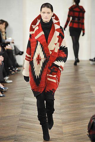 Boho Native coat
