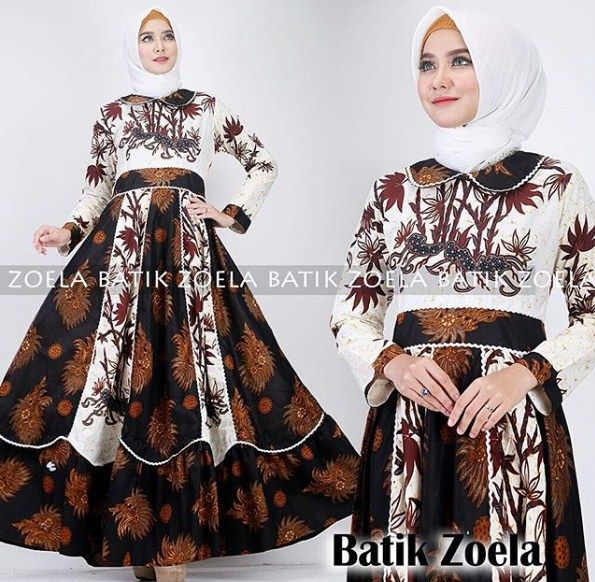 Model Gamis Batik 2019 Things To Wear In 2019 Hijab Fashion
