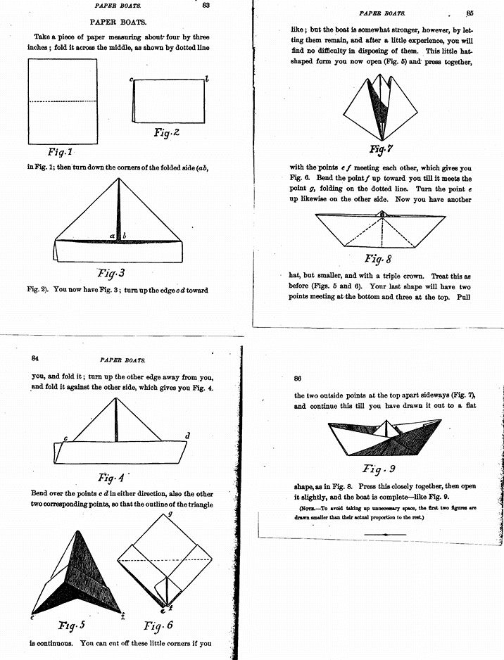 paper boat instructions for kids