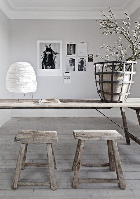 Dit landelijke interieur combineert een serene uitstraling met een fraaie stijl. #landelijk #interieur