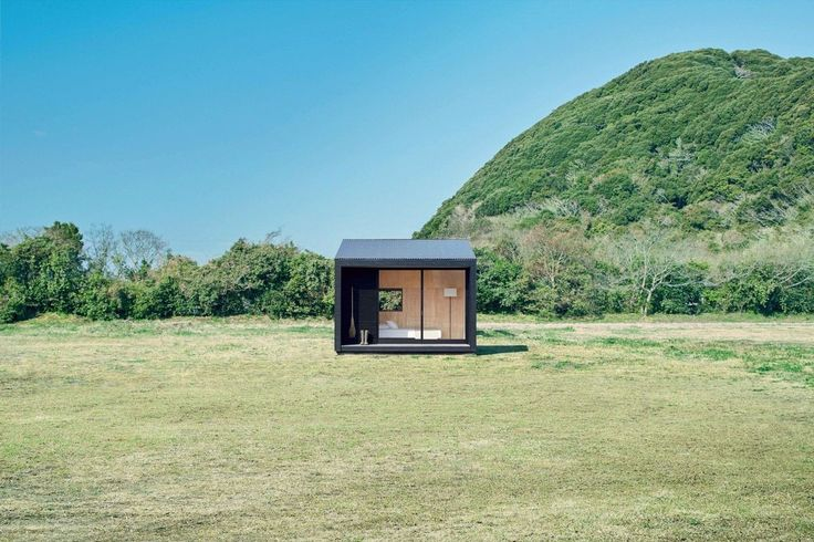 """Ever dreamt of living somewhere you once thought was impossible? Say hello to """"Muji Hut."""" The Japanese homeware retailer has just unveiled a tiny transportable house that was created with the vision to give people the opportunity to live, or holiday, in any location they desire."""