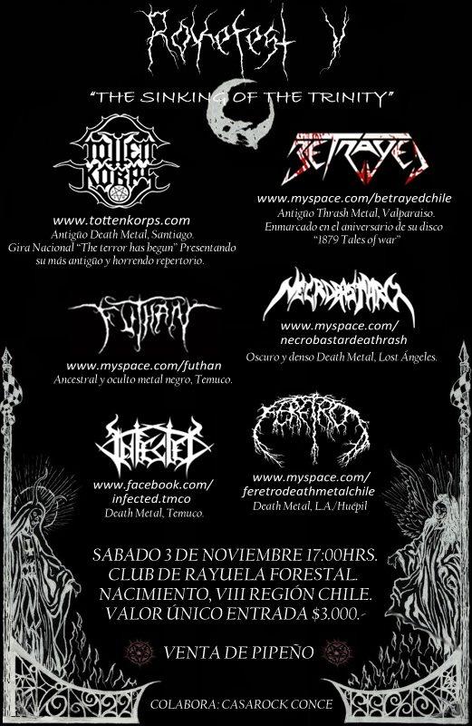 3 de Noviembre: Roke Fest V
