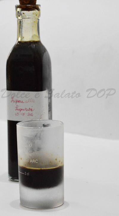 Liquore alla liquirizia, ricetta semplice