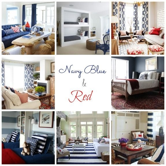 Real Inspired  Decorating with Navy Blue64 best Decorating with Navy Blue images on Pinterest   Home  . Orange And Navy Blue Bedroom. Home Design Ideas