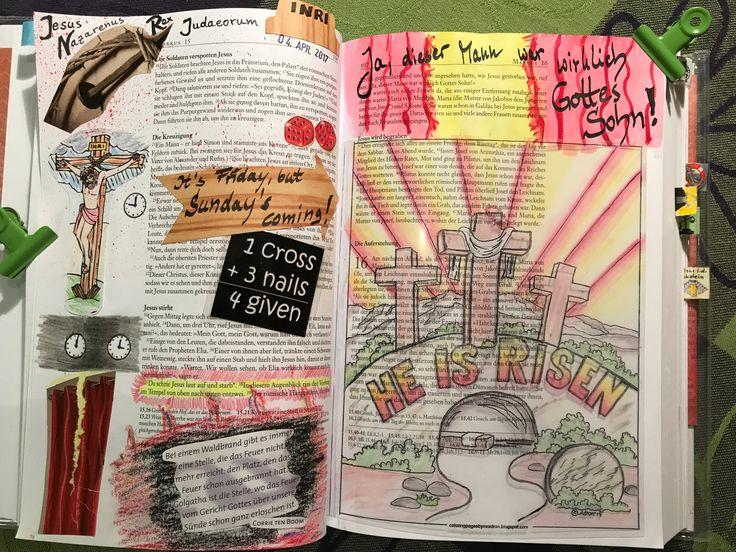 Markus 15, 21 - 16, 11 Jesu Kreuzigung, Tod und Auferstehung 1 Cross + 3 Nails = 4 Given!!