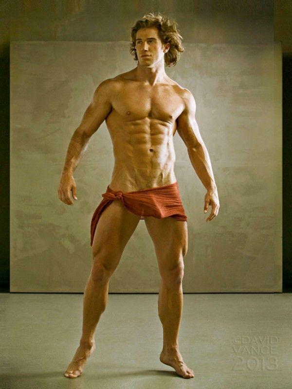 natural muscular build
